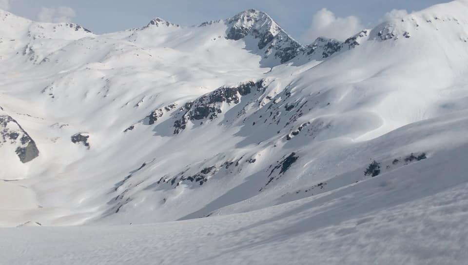 Снимка от склона на Big Mountain Freeride